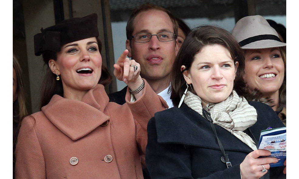 The royal couple share a passion for horse racing.