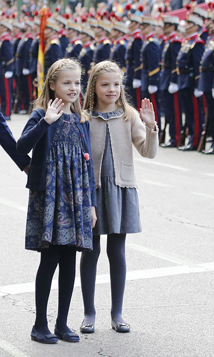 <h3>Princess Leonor and Princess Sofia of Spain</h3>