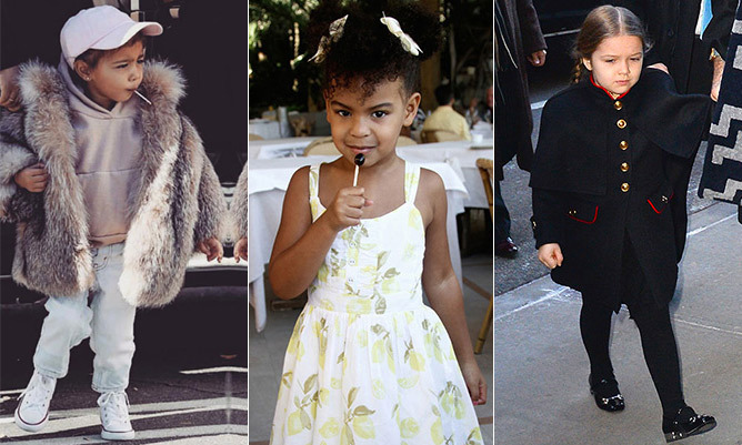 "<p>With dozens of designer bags, custom creations from top French fashion houses and cutting-edge style, it's hard to believe these style icons are all 10 and under! <a href=""/tags/0/north-west/"">North West</a> and <a href=""/tags/0/harper-beckham/"">Harper Beckham</a> lead the fashion pack, the former regularly spotted in fur and <a href=""/tags/0/balmain/"">Balmain</a> and the latter in ladylike outfits comprised of formal coats over pretty dresses. Among the royals, <a href=""/tags/0/prince-george/"">Prince George</a> and <a href=""/tags/0/princess-charlotte/"">Princess Charlotte</a> are the ones to watch, with their classic clothes selling out the moment they're spotted in public.</p>