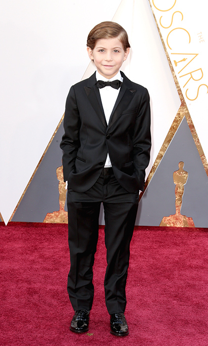 Jacob Tremblay in Armani. 
