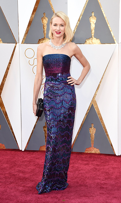 Naomi Watts in Armani.