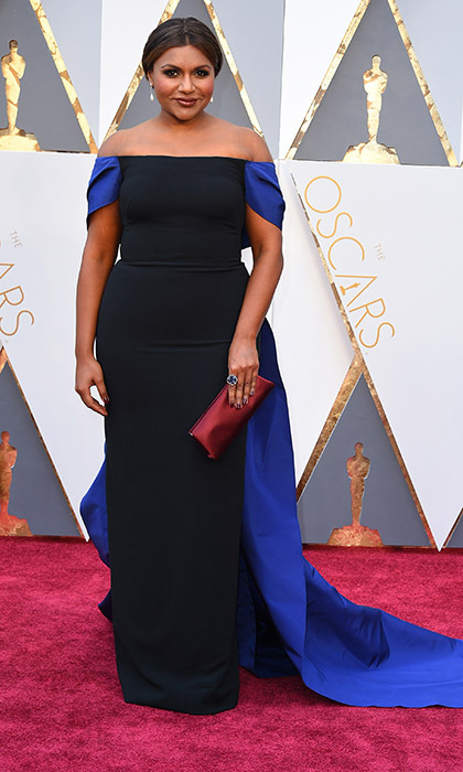 Mindy Kaling in Elizabeth Kennedy. 