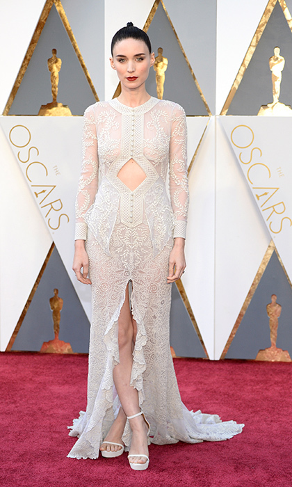 Rooney Mara in Givenchy.
