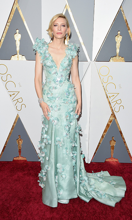 Cate Blanchett in Armani.