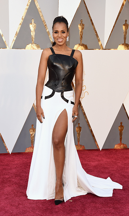 Kerry Washington in Versace.