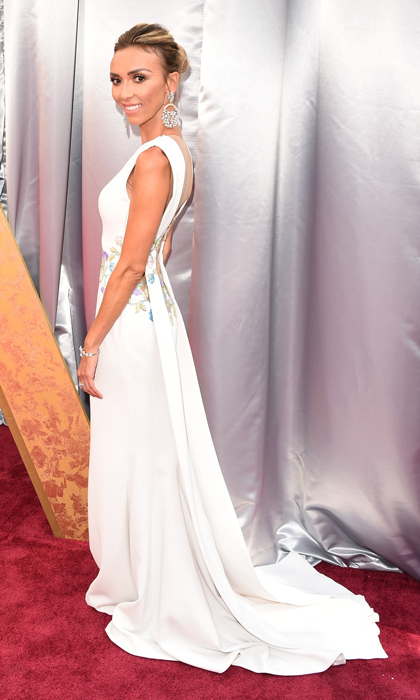 Giuliana Rancic in Georges Chakra.