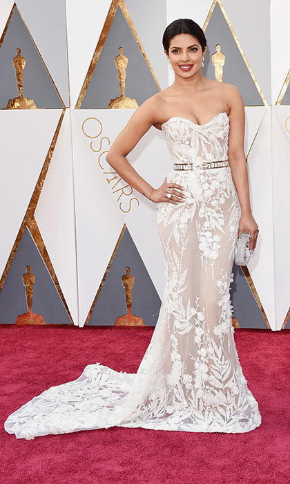 Priyanka Chopra in Zuhair Murad.