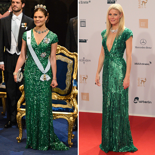 <h2>Crown Princess Victoria of Sweden and Gwyneth Paltrow</h2>