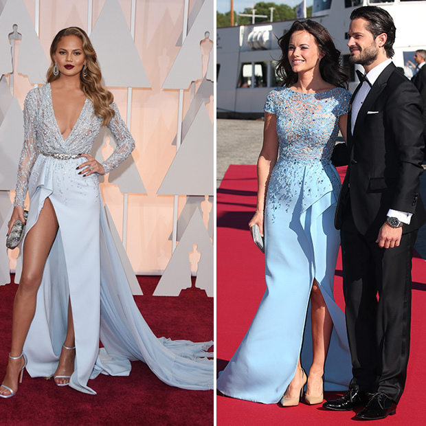 <h2>Chrissy Teigen and Princess Sofia of Sweden</h2>