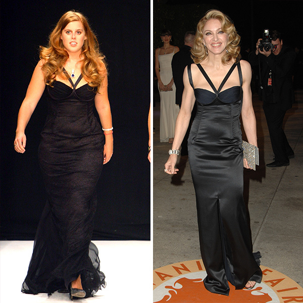 <h2>Princess Eugenie and Madonna</h2>