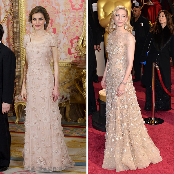 <h2>Queen Letizia of Spain and Cate Blanchett</h2>