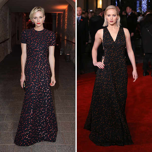<h2>Princess Charlene of Monaco and Jennifer Lawrence</h2>