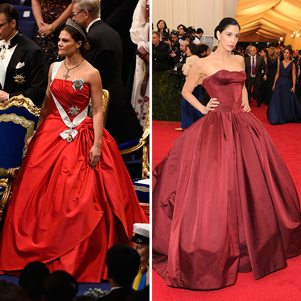 <h2>Crown Princess Victoria of Sweden and Sarah Silverman</h2>