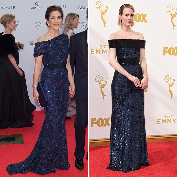 <h2>Princess Mary of Denmark and Sarah Paulson</h2> 