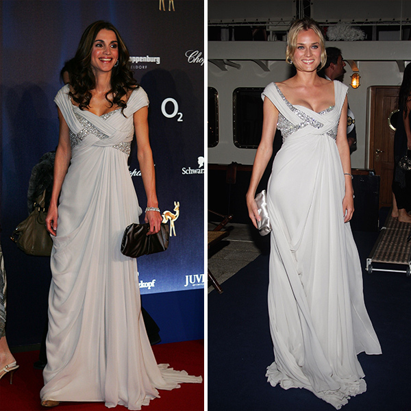 <h2>Queen Rania of Jordan and Diane Kruger</h2>