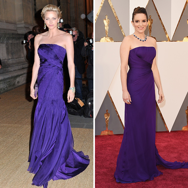 <h2>Princess Charlene of Monaco and Tina Fey</h2>