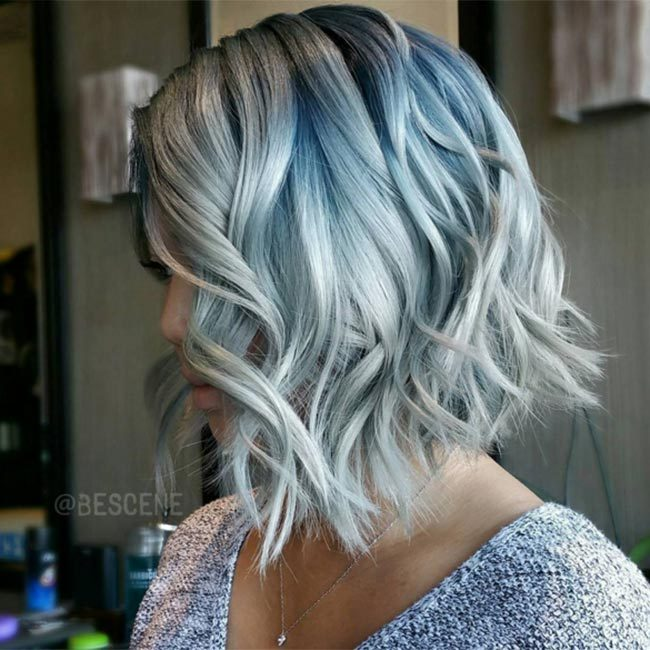 "Take note from <a href=""https://www.instagram.com/bescene/"" target=""_blank"">@bescene</a> and go for acid washed-inspired undertones - this is particularly ideal if you have shorter hair and want to play with the dip dye trend.