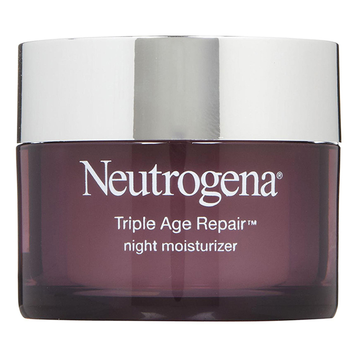 "<b>Neutrogena Triple Action Age Repair Night Moisturizer, $37, at drugstores and mass-market retailers, <a href=""http://www.neutrogena.ca/"">neutrogena.ca</a></b>