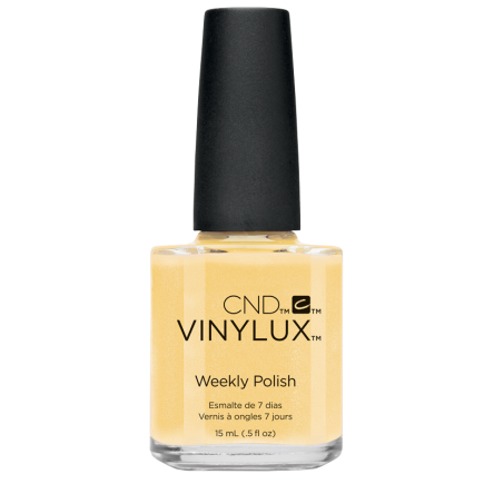 "<b>CND Vinylux Flirtation Weekly Polish in Honey Darlin' #218, $12.50, at <a href=""CND.com/find-salon"">CND.com</a></b>