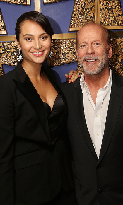 <strong>Bruce Willis and Emma Heming</strong> - Age gap: 23 years