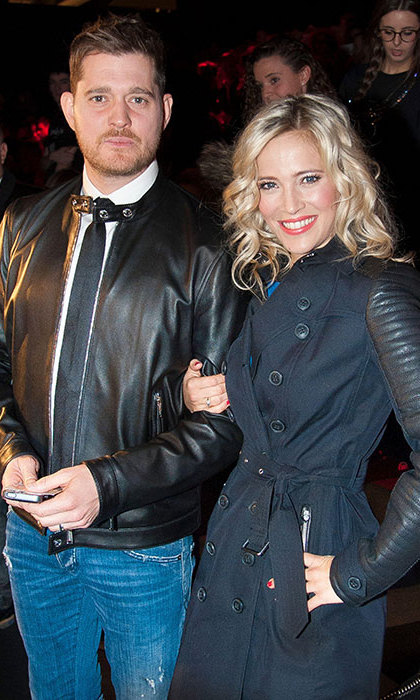 <strong>Michael Bublé and Luisana Lopilato</strong> - Age gap: 12 years