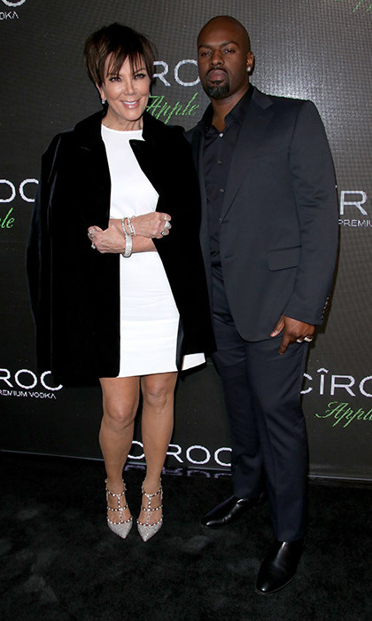 <strong>Kris Jenner and Corey Gamble</strong> - Age gap: 25 years