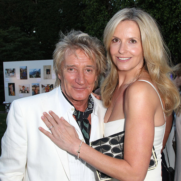 <strong>Rod Stewart and Penny Lancaster</strong> - Age gap: 27 years