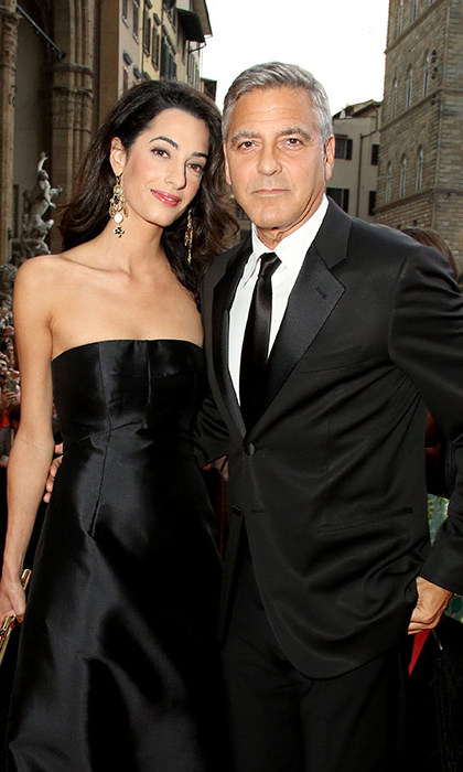 <strong>George Clooney and Amal Alamuddin</strong> - Age gap: 16 years