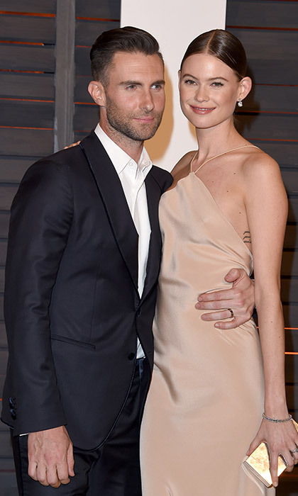 <strong>Adam Levine and Behati Prinsloo</strong> - Age gap: 10 years