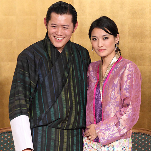 <strong>King and Queen of Bhutan</strong> - Age gap: 11 years