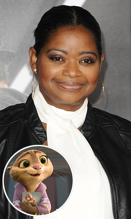 Octavia Spencer, who captured Oscar gold for her performance in <i>The Help</i>, made her animated film debut in <i>Zootopia</i>. The American actress voices Mrs. Otterton, an adorable otter who is in desperate search to locate her missing husband. 