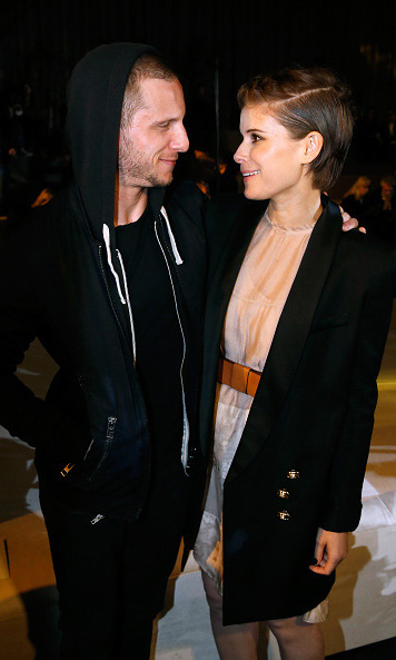 Jamie Bell and girlfriend Kate Mara were arm-in-arm during the H&M presentation.