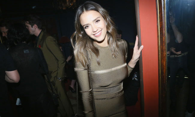 Jessica Alba dazzled at the Balmain after-party.