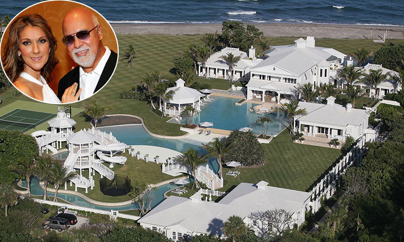 Celine dion drops asking price on florida estate by 30 for Celebrity houses in florida