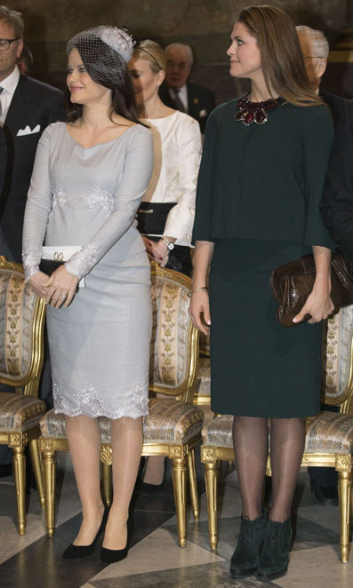 Princess Sofia and Princess Madeleine of Sweden.