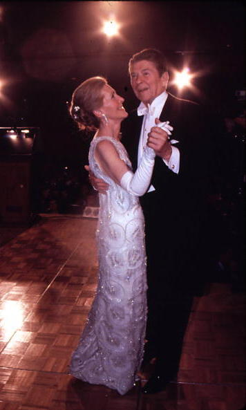 On January 20, 1981, the newly elected President of the United States danced with his favourite leading lady. The couple's White House stay would last two terms.