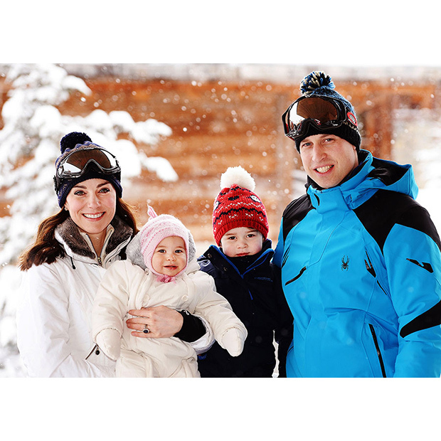 The Duke of Cambridge is passing down his love for skiing to his kids. 
