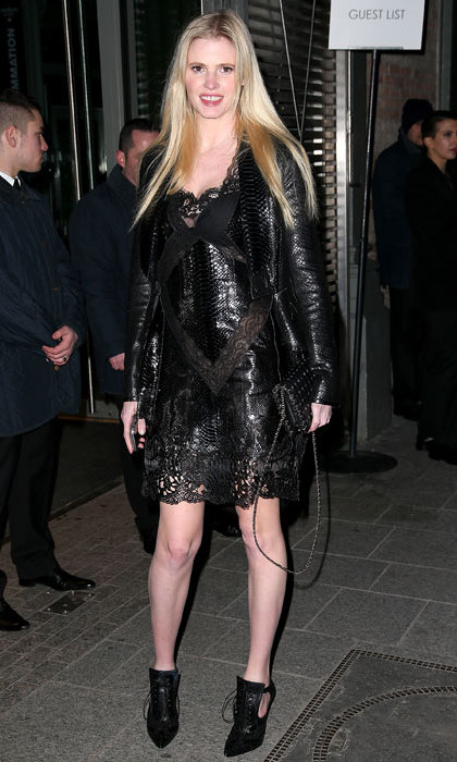 Lara Stone at Givenchy.