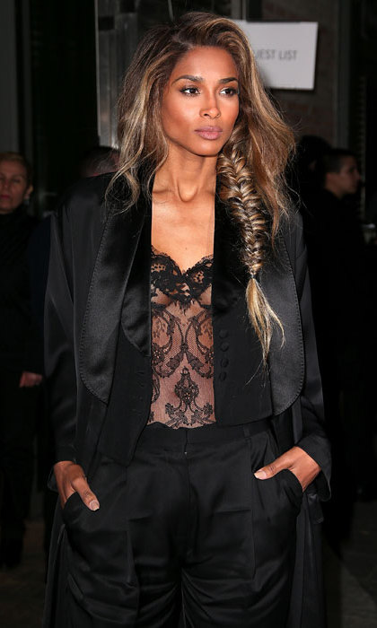 Ciara at Givenchy.