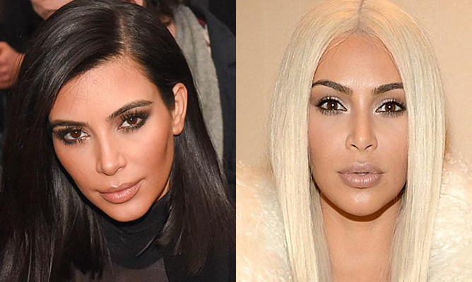 Kim Kardashian.