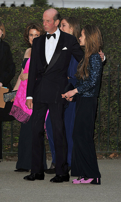 She is the granddaughter of the Queen's cousin, Prince Edward, Duke of Kent, and is currently 36th in line to succeed to the British throne.