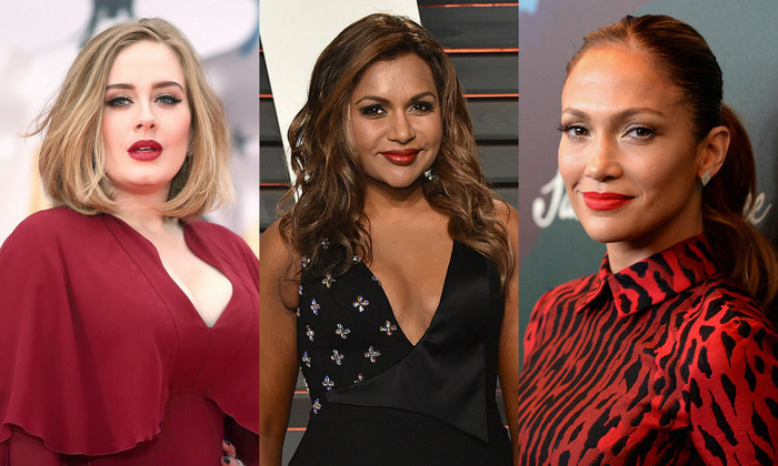 Like women all around the world, stars face insecurities about their bodies, but a group of fabulous females are fighting to spread positivity. From <b>Adele</b> to <b>Chrissy Teigen</b> and <b>Mindy Kaling</b>, we've rounded up the celebrities we love for celebrating themselves despite not fitting a very narrow ideal...