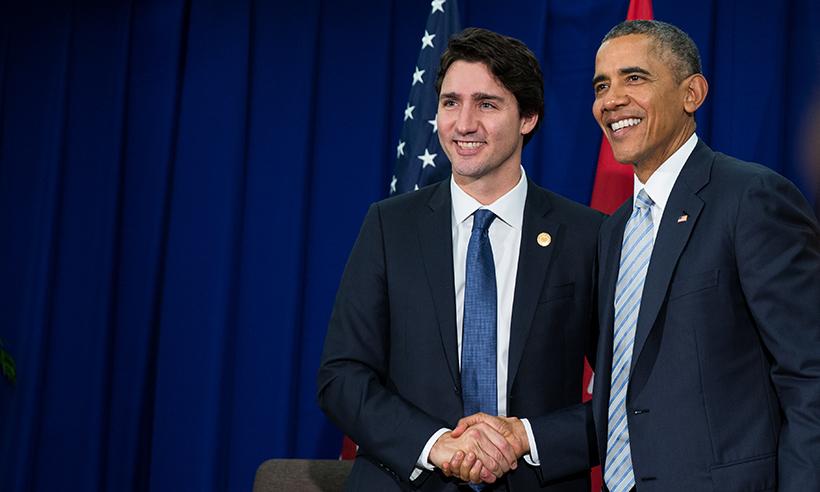 On Mar. 10, Prime Minister Justin Trudeau and U.S. President Barack Obama will meet to talk politics at the White House. Their paths to power differ greatly but the two men have many things in common. From their love for their family to their passion for sports, <i>Hello!</i> rounds up some of the biggest similarities between the popular politicians. 