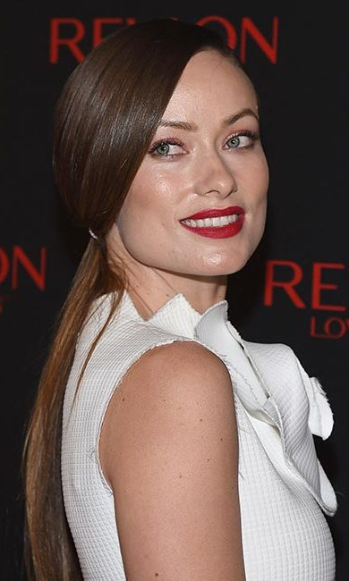 The <em>Rush</em> actress gave us major hair goals when she stepped out at a Revlon event with this super sleek and smooth low ponytail.