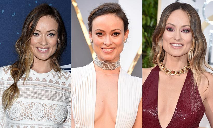 Olivia Wilde is a natural beauty and she tends to play this up when it comes to her hair and makeup, though she's still keen to have a little fun on the red carpet. From boldly hued shadows and playful hair accessories to the occasional bright red lip, the actress and mother of two never fails to grab our attention. Click through to see Olivia's best beauty looks...