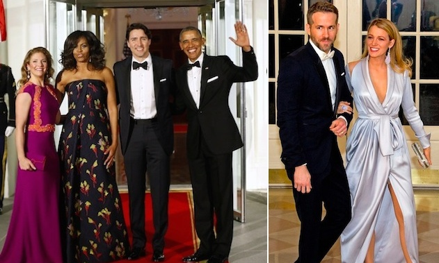 Justin Trudeau And Wife Sophie Joined By Ryan Reynolds