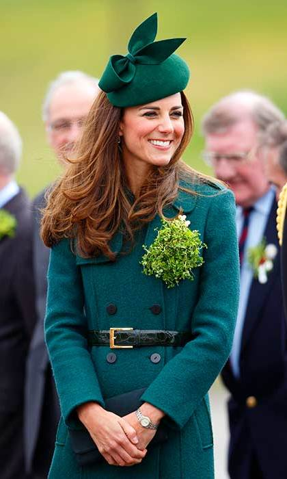 The Duchess of Cambridge will miss the St Patrick's Day Parade for the first time.