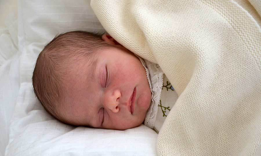 Princess Victoria was behind the lens for the first official portrait of her son Prince Oscar. Taken at the family home, Haga Castle, the image shows Oscar sleeping peacefully at just five days old.