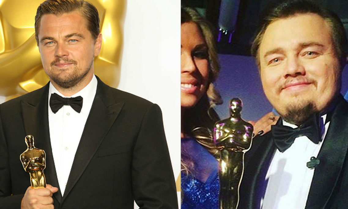 <h4>Leonardo DiCaprio</h4>