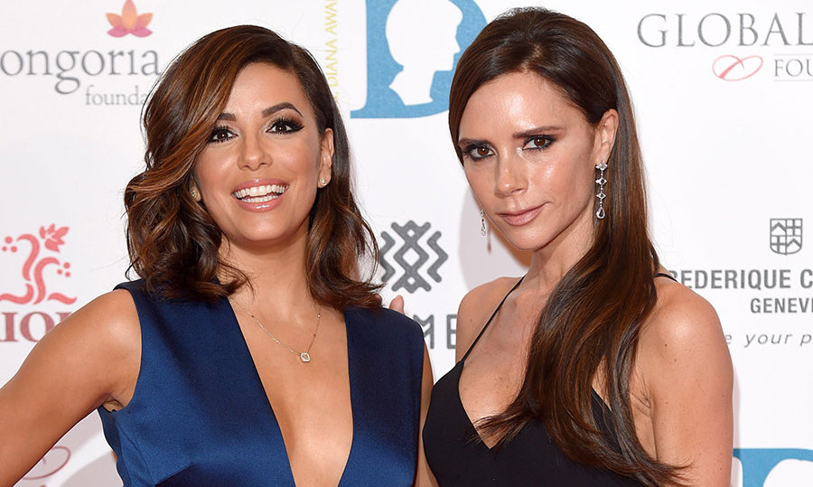 <h2>VICTORIA BECKHAM AND EVA LONGORIA